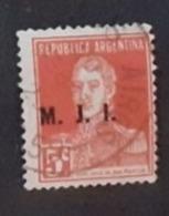 Amérique > Argentine  Service  Oblitérés N° 209 - Servizio