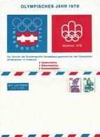 ** BS 5 Blanko Umschlag Mit 20 + 25 Pf Unfallverhütung - Mit Luftpost - Sobres Privados - Nuevos
