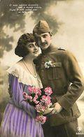 029 891 - CPA - Thème - Couple - Romantique - Romance - Amour - Couples