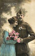 029 892 - CPA - Thème - Couple - Romantique - Romance - Amour - Couples