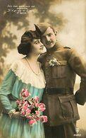 029 893 - CPA - Thème - Couple - Romantique - Romance - Amour - Couples
