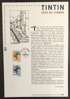 France - Document Philatélique - Premier Jour - FDC - Tintin - 2000 - 2000-2009