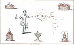 Porceleinkaart Patissier De Muyttere Rue St Amand - Brugge - 5 X9 Cm - Brugge
