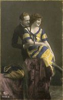 029 896 - CPA - Thème - Couple - Romantique - Serie - Laisse Moi T'aimer - Couples