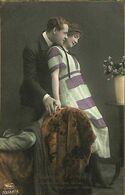 029 897 - CPA - Thème - Couple - Romantique - Serie - Laisse Moi T'aimer - Couples