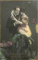 029 898 - CPA - Thème - Couple - Romantique - Serie - Laisse Moi T'aimer - Couples