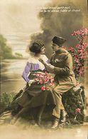 029 900 - CPA - Thème - Couple - Romantique - Romance - Amour - Militaire - Couples
