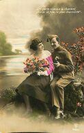 029 903 - CPA - Thème - Couple - Romantique - Romance - Amour - Militaire - Couples