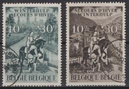 Belgique: 1944. COB : 639/40. Oblitéré(s). - Belgique