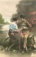 029 904 - CPA - Thème - Couple - Romantique - Romance - Amour - Militaire - Couples