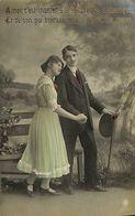 029 906 - CPA - Thème - Couple - Romantique - Romance - Amour - Couples