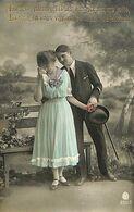 029 907 - CPA - Thème - Couple - Romantique - Romance - Amour - Couples