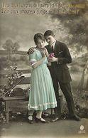 029 908 - CPA - Thème - Couple - Romantique - Romance - Amour - Couples