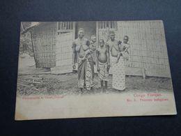 Afrique ( 88 )  Africa  Afrika  :  Congo :   Femme Au Seins Nus  Nu Nue  Naakt Nude - Congo Francés - Otros
