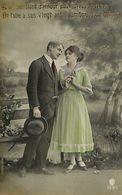 029 909 - CPA - Thème - Couple - Romantique - Romance - Amour - Couples