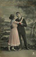 029 911 - CPA - Thème - Couple - Romantique - Romance - Amour - Couples