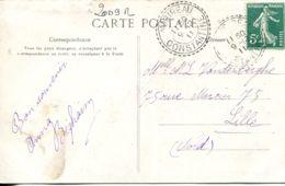 N°2009 R -cachet Double Cercle Pointillé (perlé) Constantine -1911- - 1877-1920: Semi Modern Period