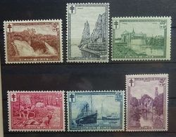 BELGIE  1929     Nr. 293 - 298    Scharnier *   CW  50,00 - Nuovi