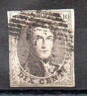 Sello De Bélgica Nº Yvert 6 O - 1849-1850 Medallions (3/5)