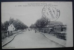 1916 Place De Lure, Le Major De La Garnison, Cachet Sur Carte Pour Marseille - WW I