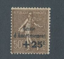 FRANCE - N° 267 NEUF* AVEC CHARNIERE - 1930 - Caisse D'Amortissement