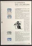 France - Document Philatélique - Premier Jour - FDC - Conseil De L'Europe - 2001 - 2000-2009