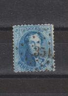 COB 15A Oblitéré PT 351 TERMONDE - 1863-1864 Medallones (13/16)