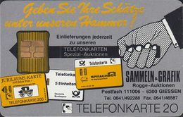 GERMANY K565a/91 Rogge Auktionen - Telefonkarten - Airbus - Germany