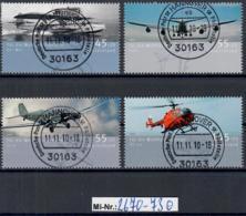 Bundesrepublik Mi-Nr.: 2670-73 Wohlfahrt 2008 Sauber Gestempelter Satz - Gebraucht