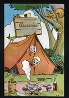 89, Auxerre, Carte A Systeme, Sans Les Photos ( Confectionnement Interrompu ), Camping, Tente, Lezard - Auxerre