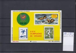 Bolivien Michel Cat.No. Mnh/** Sheet 166 Olympia - Bolivie