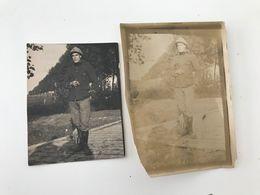 Photographies Anciennes (1916) LAMPERNISSE Soldat - Krieg, Militär