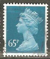 Great Britain: 1 Used Stamp, 2000, Mi#1866 - Machins