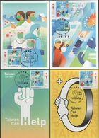 Taiwan R.O.CHINA -Maximum Card.-COVID-19 Prevention Postage Stamps 2020 - Maximum Cards