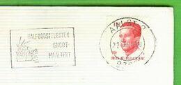Brief - AALST 2 - 9300 : Halfoostfeesten Groot Haaltert - Postmark Collection