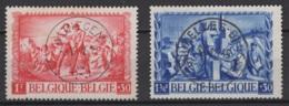 Belgique: 1945. COB : 697/98. Oblitéré(s). - Belgium