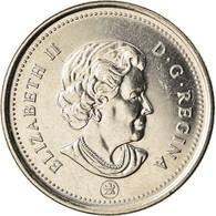 Monnaie, Canada, Elizabeth II, 25 Cents, 2008, Royal Canadian Mint, Winnipeg - Canada
