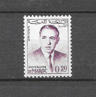 Série Courante : Feu SM Le Roi Hassan II. N°440A Chez YT. (Voir Commentaires) - Marokko (1956-...)