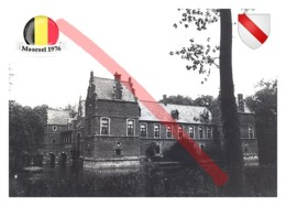 38 # Moorsel, Aalst (East Flanders)   Belgium   Municipality   Postcard Modern Ukraine - Maps