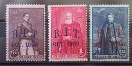 BELGIE  1930   Nr. 305 - 307    Scharnier *   CW 30,00 - Belgium