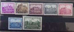 BELGIE  1930   Nr. 308 - 314    Spoor Van Scharnier *   CW 60,00 - Nuovi