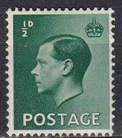 Gran Bretagna, 1936 - 1,2p Edward VIII - Nr.230 MNH** - Ungebraucht