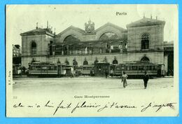 75 - Paris - Paris Gare Montparnasse (N1028) - Metro, Stations