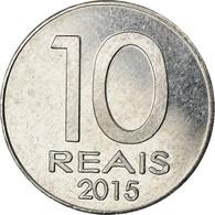 Monnaie, CABINDA, 10 Reais, 2015, SPL, Aluminium - Angola