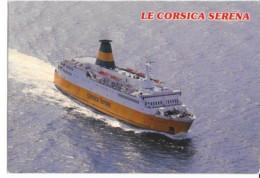 CPM - Carte Postale - Bateau - Corse - Carre Ferry Corsica Serena - édit U SEGNU - Ferries