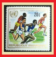 113.RWANDA 1972 STAMP SPORTS . MNH - Rwanda