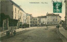 MEUSE  VAUCOULEURS  Place Pétry - Altri Comuni