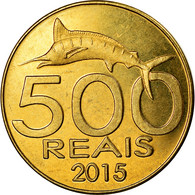 Monnaie, CABINDA, 500 Reais, 2015, SPL, Laiton - Angola