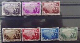 BELGIE  1932  Nr. 356 - 362    Spoor Van Scharnier *  CW 130,00 Euro - Nuovi