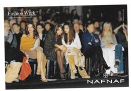 CPM - Carte Postale Publicitaire  - Naf Naf - Mode - Vetement Femme - Fashion Week - Advertising